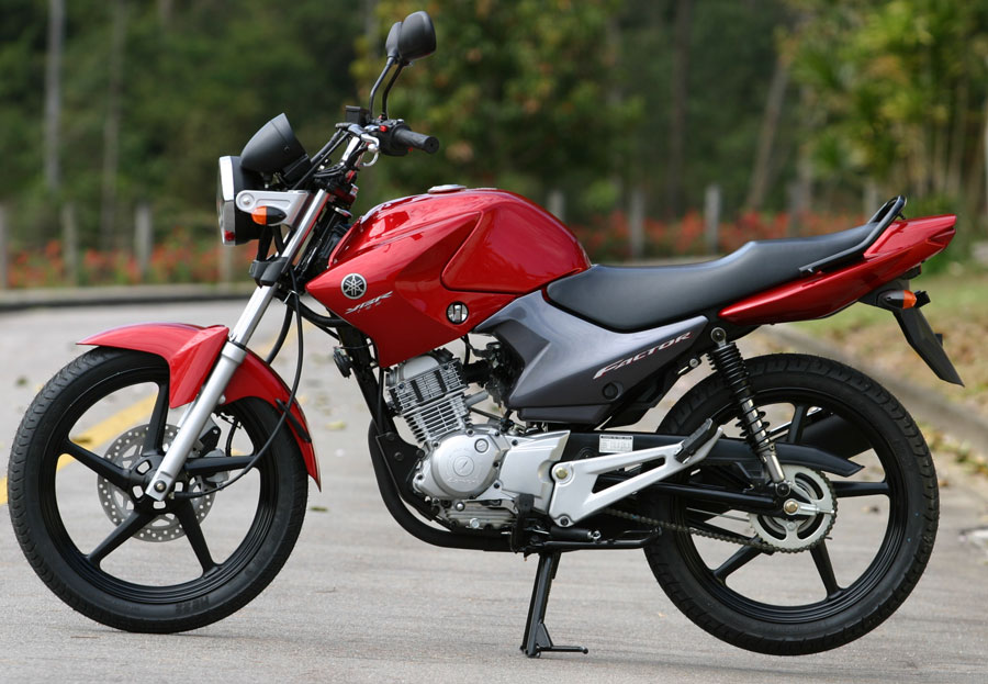 Yamaha ybr 125 is the appropriate motorcycle for long trips and offroad trips